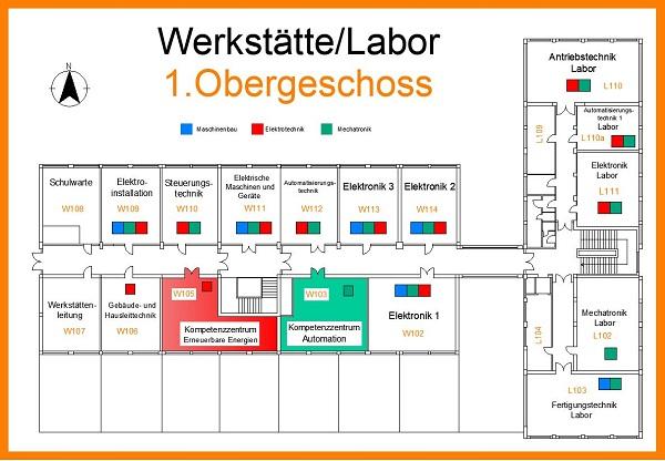Werkstätten & Laboratorien: Informationen & 360°-Tour